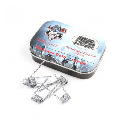 Pré-roulé Tri Twisted Clapton (Pack de 10) - Demon Killer