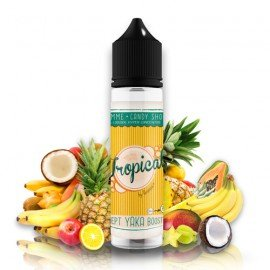 E-liquide Tropical 50ml - Candy Shop