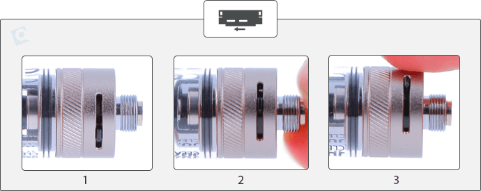 clearomiseur q16 pro airflow